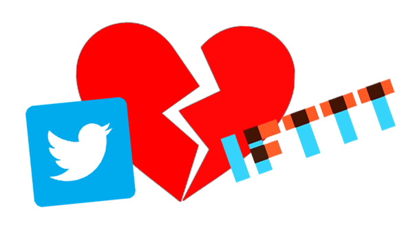 IFTTT elimina las acciones de Twitter