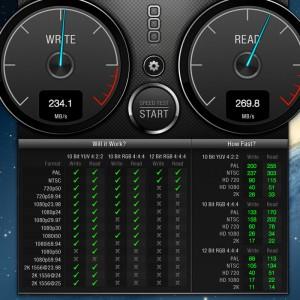 Velocidad SSD en iMac