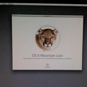 Instalar Mountain Lion