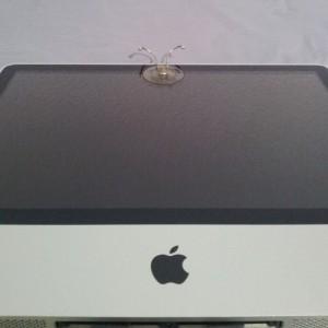Ventosa en pantalla de iMac