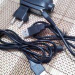 Cargador y cables USB del ZTE V970