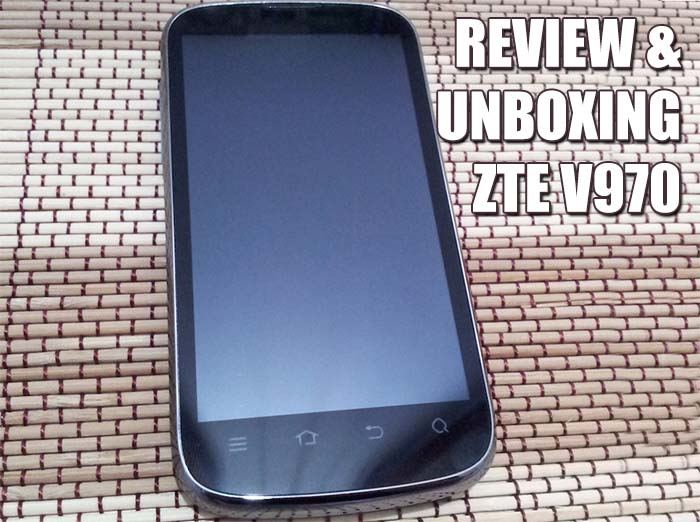 Unboxing y review ZTE V970